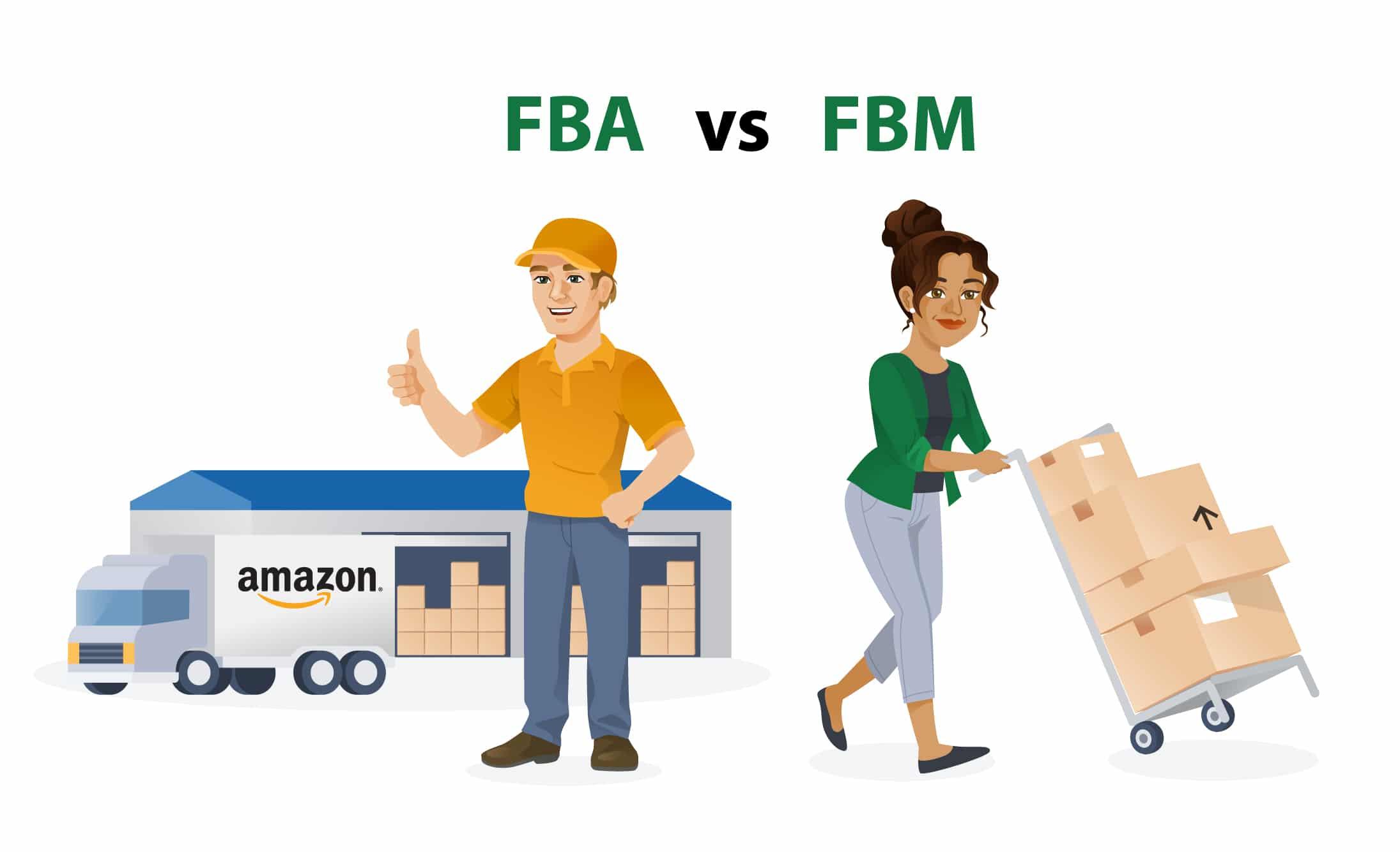 Amazon FBA / Amazon FBM Vergleich