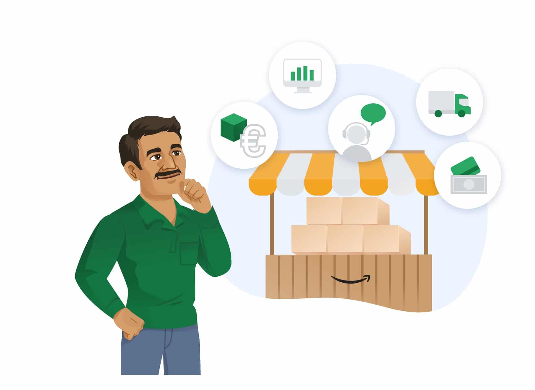 Amazon Seller und Amazon Vendor im Vergleich