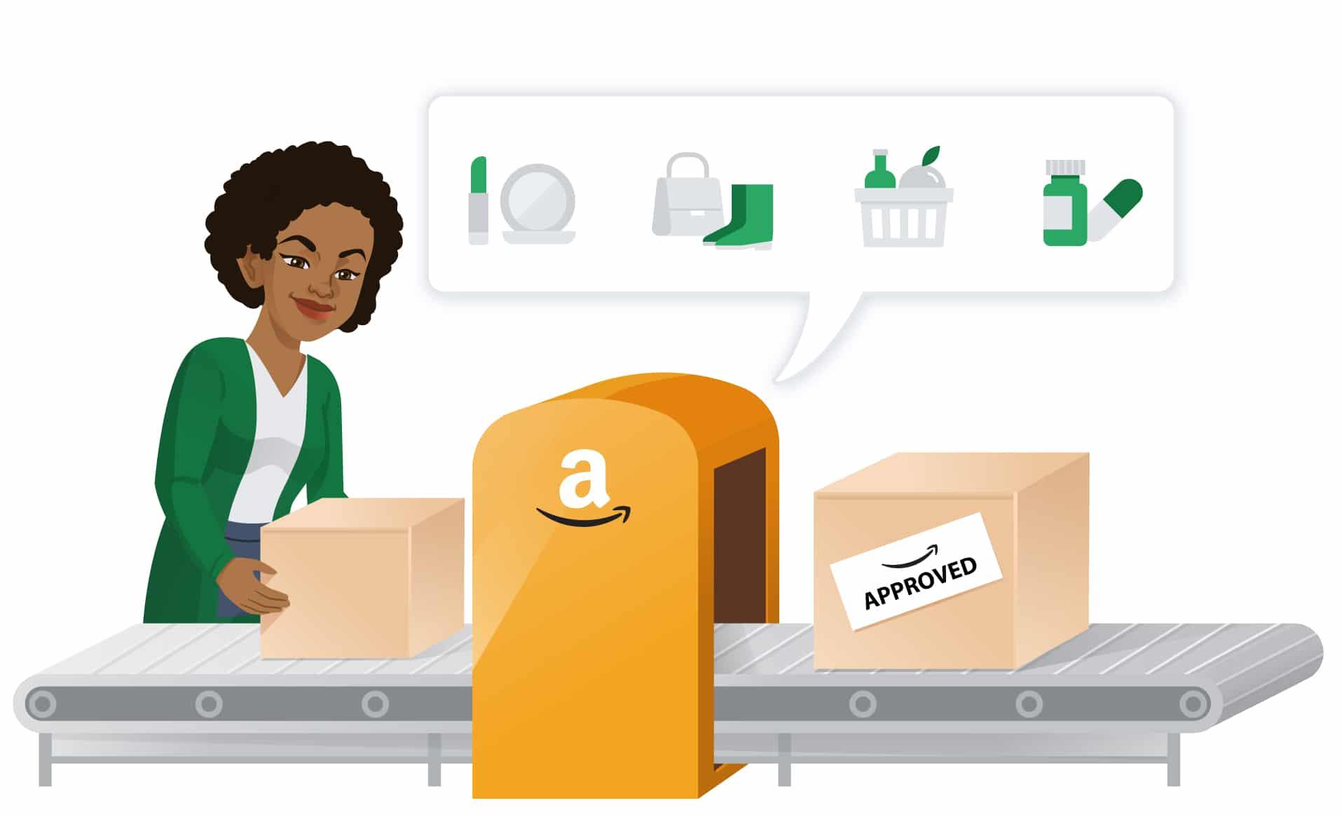 Diese Amazon Kategorien erfordern Freigaben
